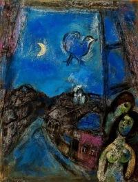 ...выставка, посвященная 125-летию со дня рождения Марка Шагала.